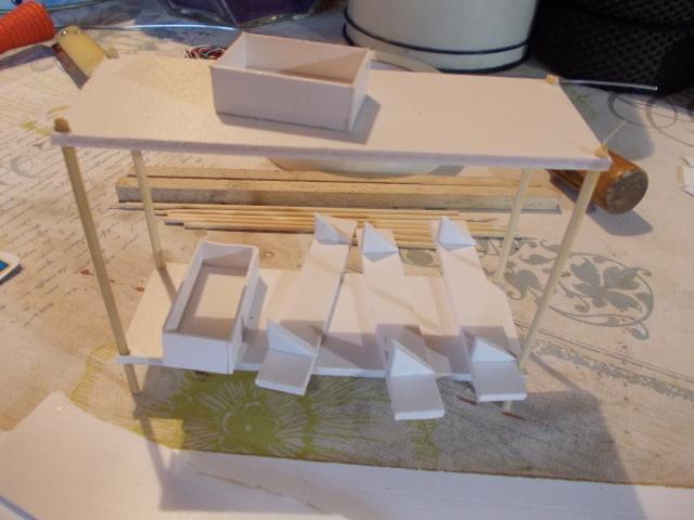 Diorama: garaje-taller crawler escala 1/10 Io0krc