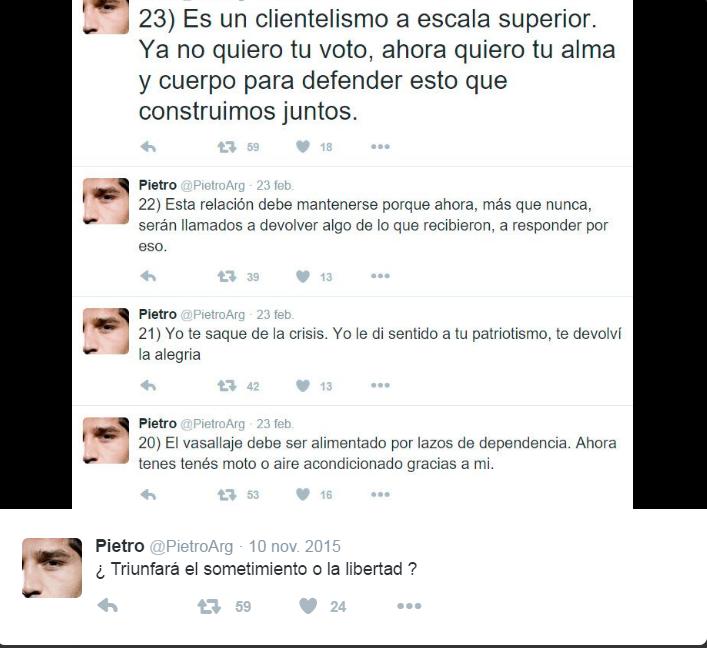 Predicciones sobre el futuro de la Argentina Ixcwic