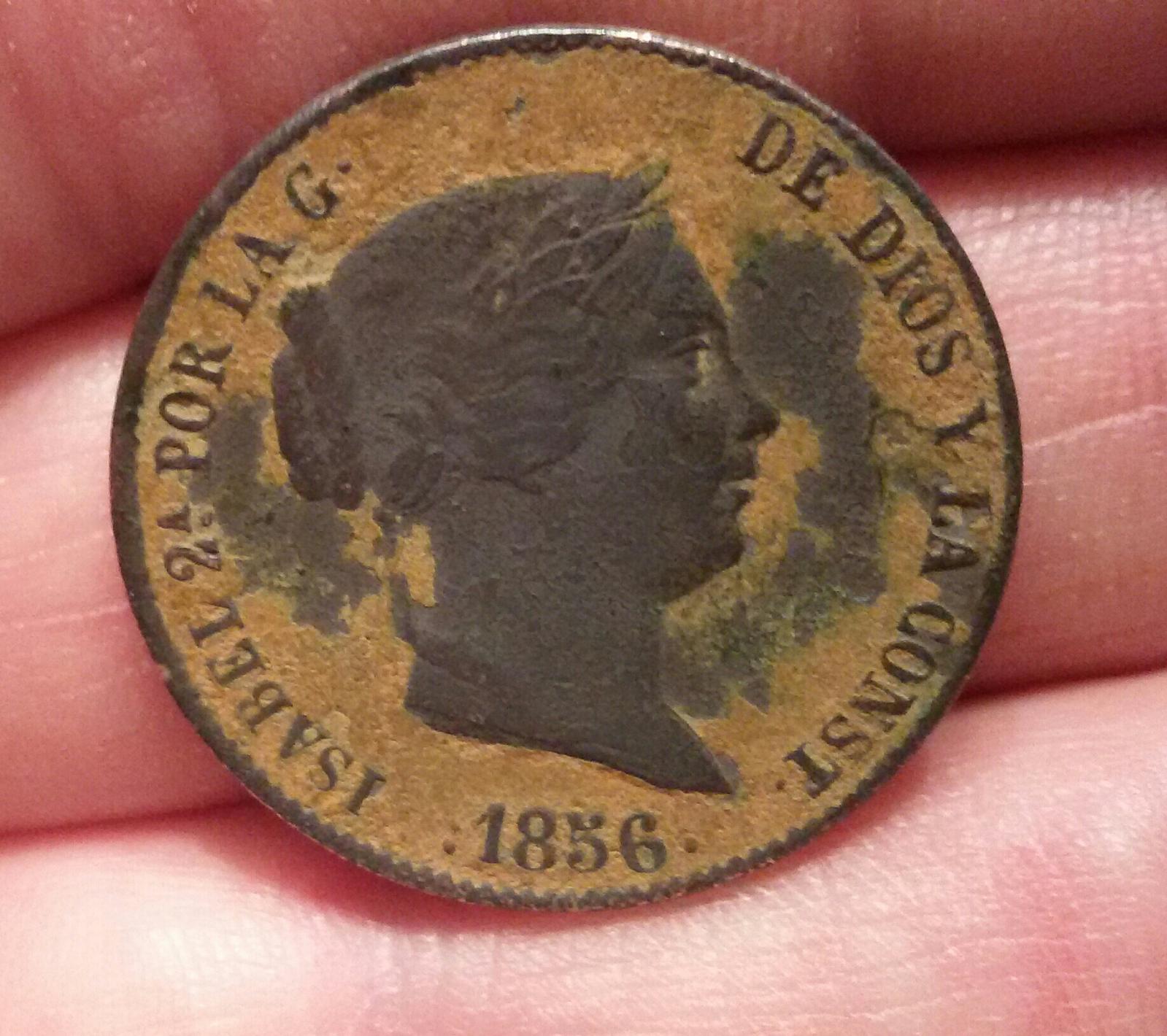 100 reales Isabel II - Falsa de época J5zhqw