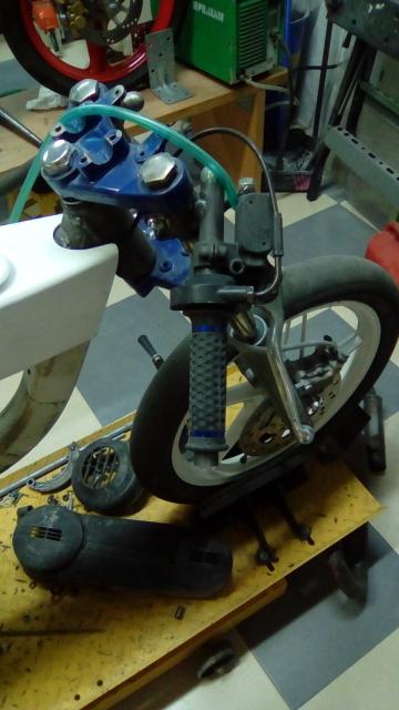 Proyecto Vespino de 65 cc. de Velocidad. K33vac
