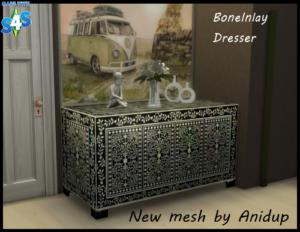 The Sims 4: Bone Inlay Dresser K3y8o