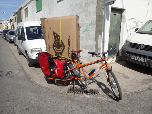 Vendo bicicleta de carga Yuba elMundo K4xd9w