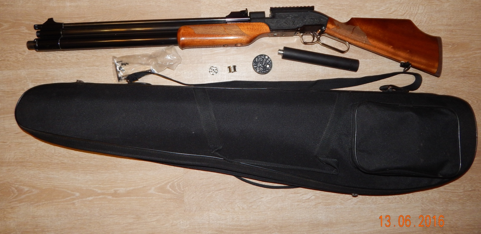 Продам Sumatra винтовка cal 6.35 объем 500 Mhg8jr