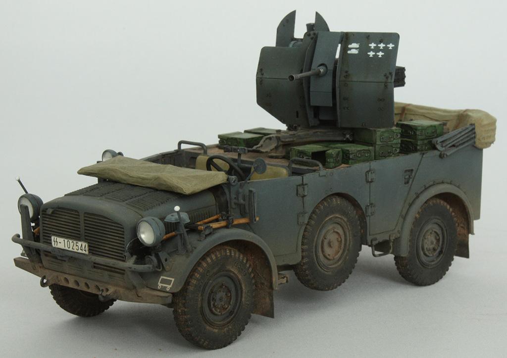 Horch Typ 1a w/2cm Flak 38 конверсия Tamiya+Dragon 1/35 Mm4lzm