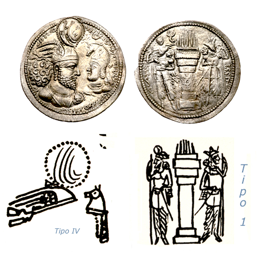 Las coronas de los shas de Persia. Nxu83n