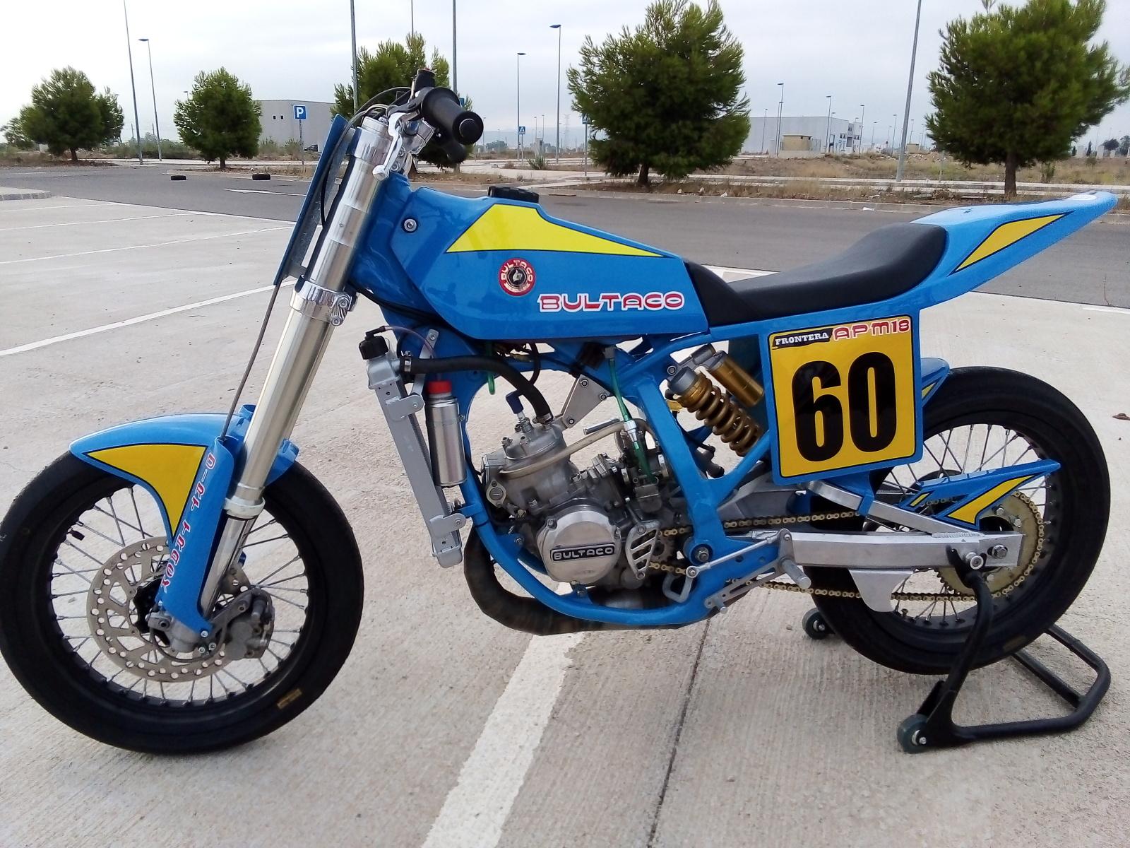Bultaco Frontera APM18 125 Dirt-Track O0v04y