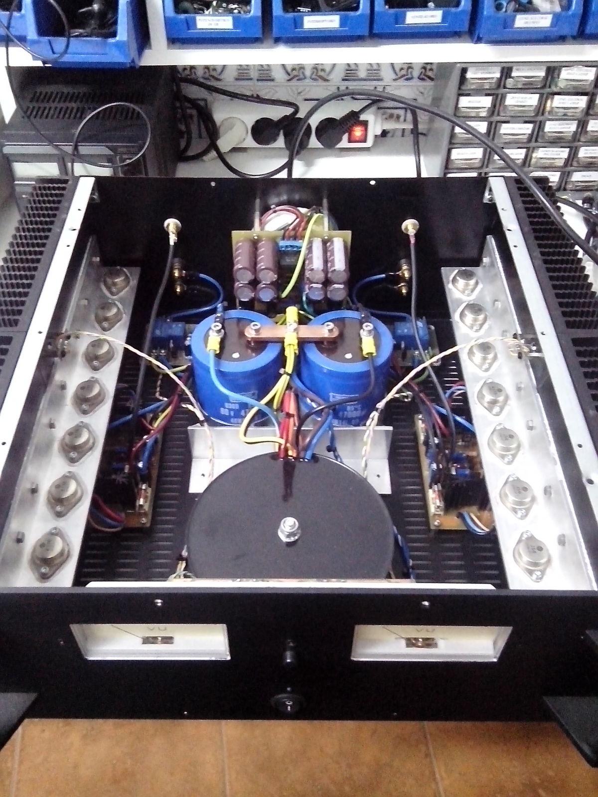 Amplificador Transistorizado Ot0xth