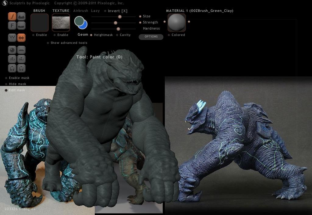 Leatherback 3D Model - Pacific Rim Qqcrjb