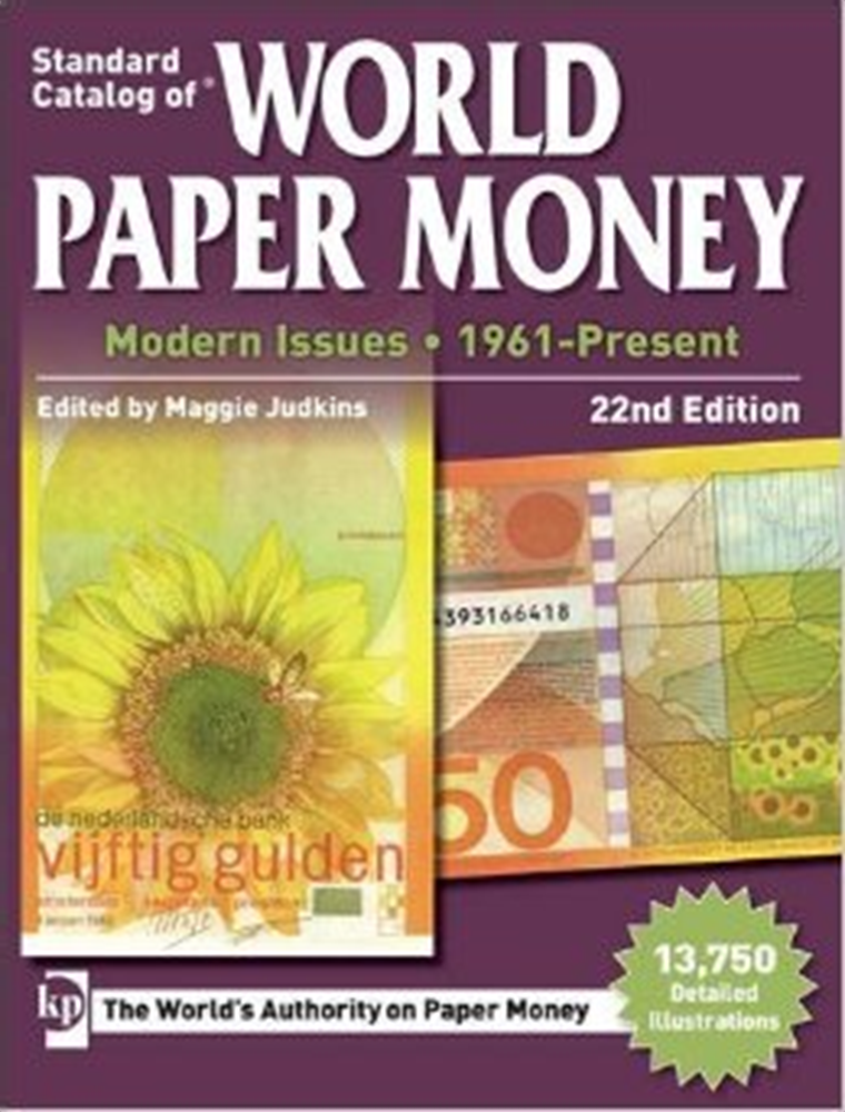 2017 Standar Catalog of World Paper Money Modern Issues 1961-Present (22nd Edition) Qzhpqa