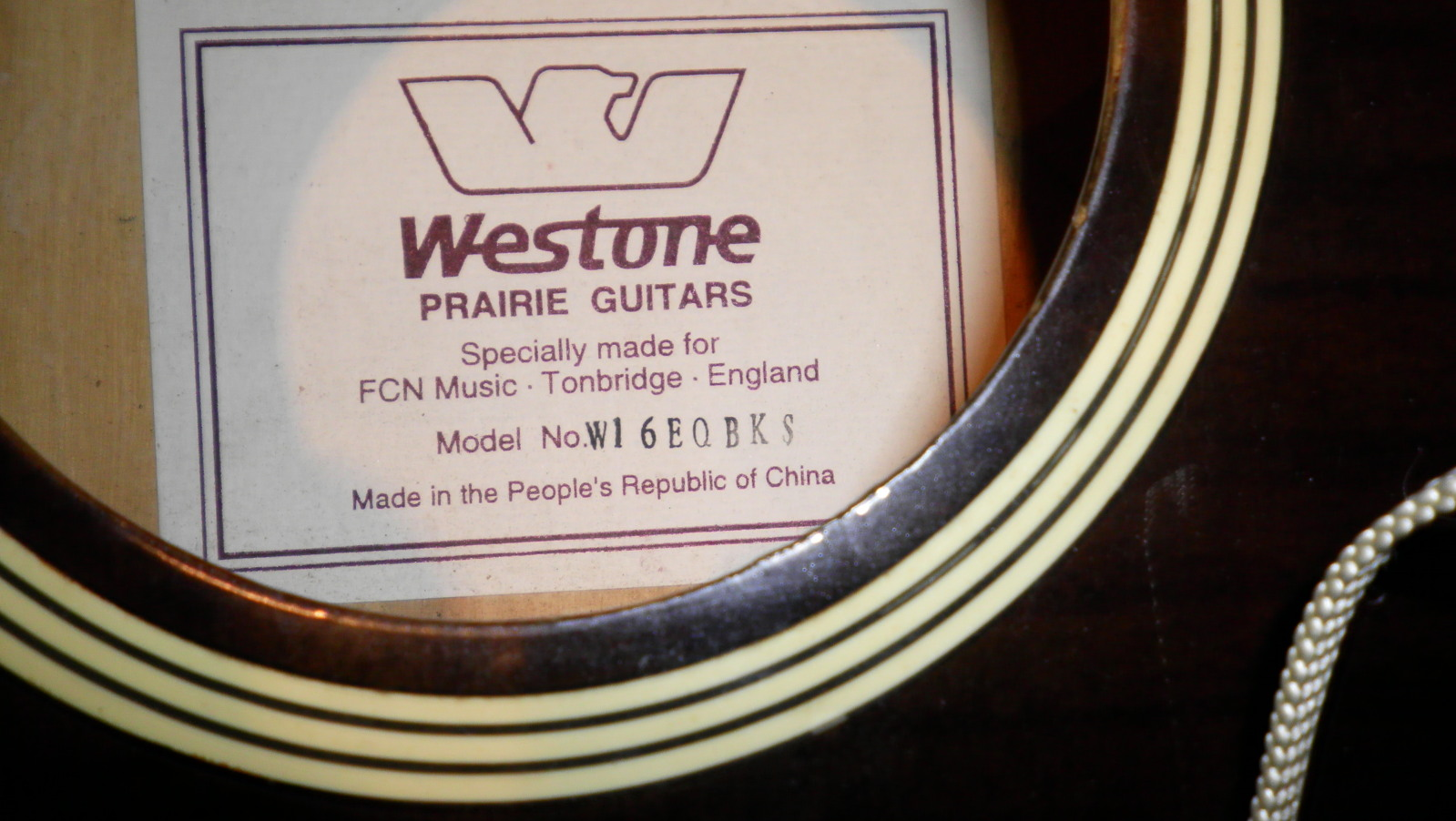 string - 12 String Acoustic Westone So1l4g