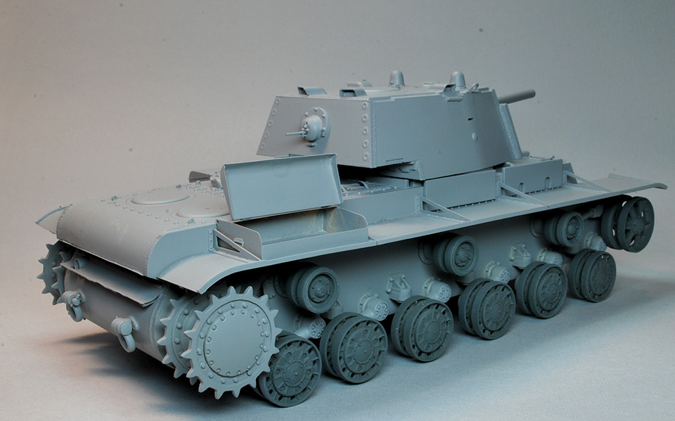КВ-1 Ленинградский фронт 1942г Szv5ec