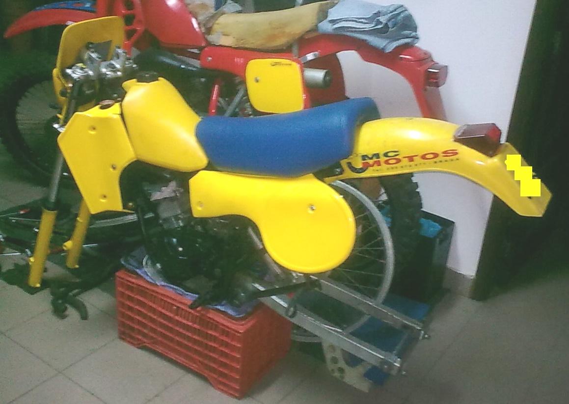 Prototipo Suzuki RM 80 H 1983 Vpu814