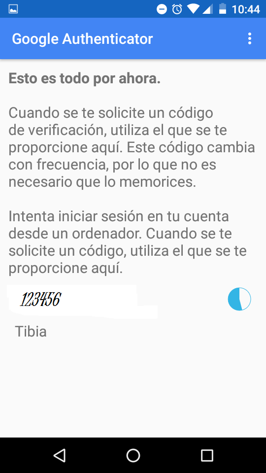 TIBIA AUTHENTICATOR (NO ACTIVAR SIN RECOVERY KEY!) Wjj8y1