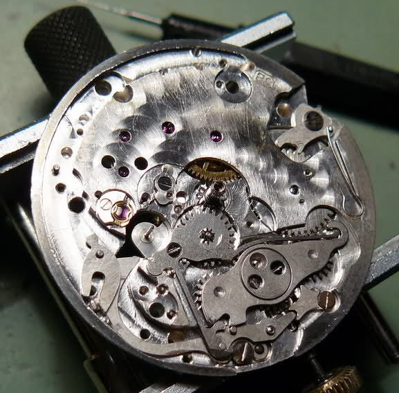 Chronographe Excelsior Park 40...huileux 6t4o1w3