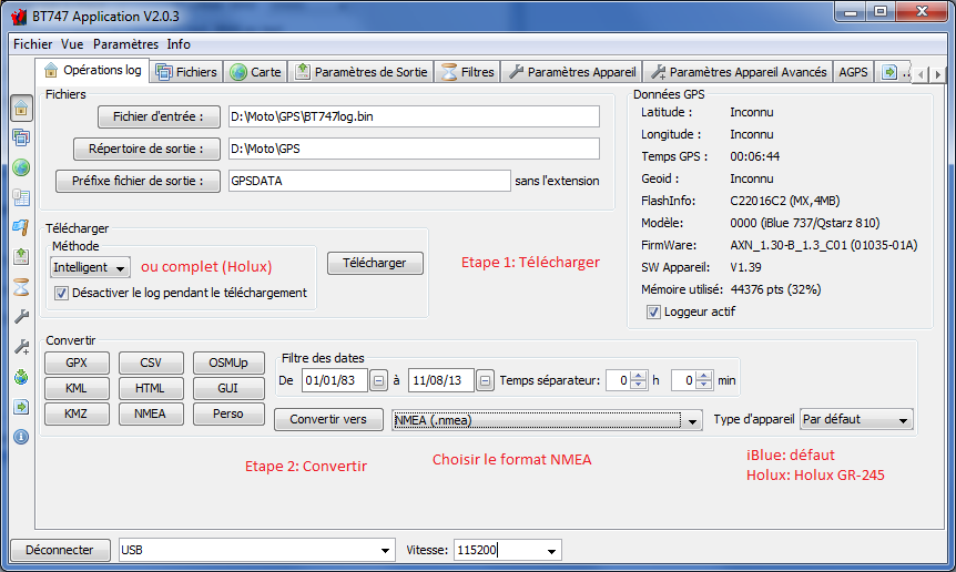 Race Chrono (chronomètre GPS gratuit) - Page 3 3_operations_log