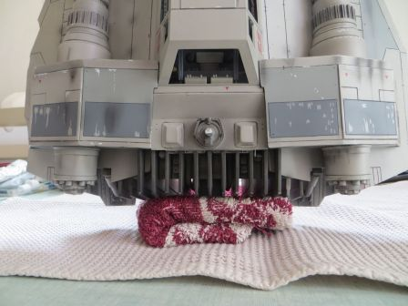Restauration d'un Master Replicas Snowspeeder .IMG_5395_m