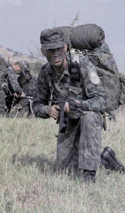 Bulgarian Special Forces/Airborne Splinter Uniform 0607