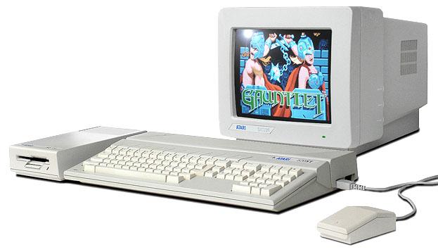 Απο ποια ηλικια ασχολειστε με τους υπολογιστες? Atari520st-1