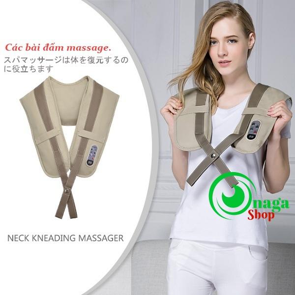 Máy Đấm Lưng Massage Vai Gáy Cổ Nhật Bản Neck New Dai_dam_lung_1