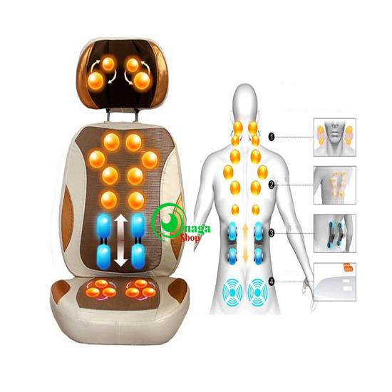 massage - Mua đệm massage 5D Nhật Bản tặng gối massage 6 bi nhân dịp 30.4/1.5  Dem5d4