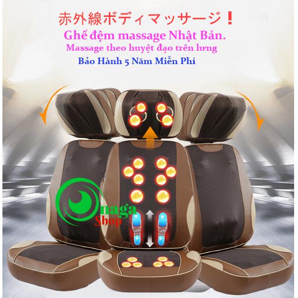 Đệm Massage Hồng Ngoại Nhật Bản 5D Eneck New -TP900 Dem_massage_eneck_5d1