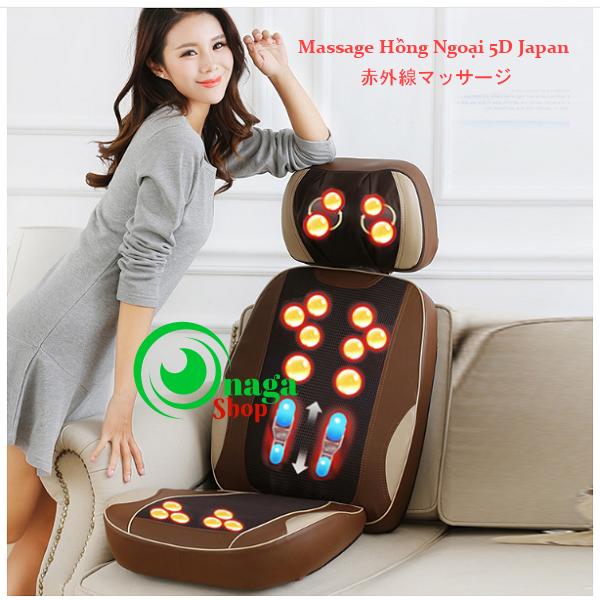 Đệm Massage Hồng Ngoại Nhật Bản 5D Eneck New -TP900 Dem_massage_eneck_5d3
