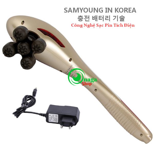 Máy Massage Cầm Tay Pin Sạc SamYoung SY-01 Hàn Quốc Massage_samyoung_SY2