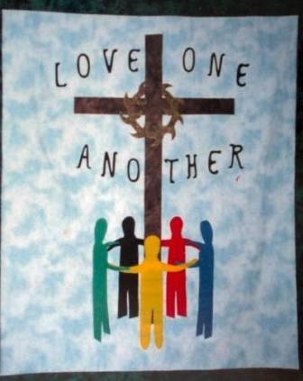 Pab xav txog lub ntsiab hauv tej zaj nyeem Love_one_another_