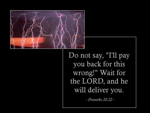 CHRONOLOGIC BIBLE Proverbs20_22