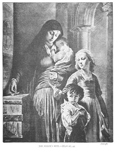 Citations des Pères de l'Eglise concernant l'AUMÔNE et la CHARITÉ (en espagnol) Widowsmite