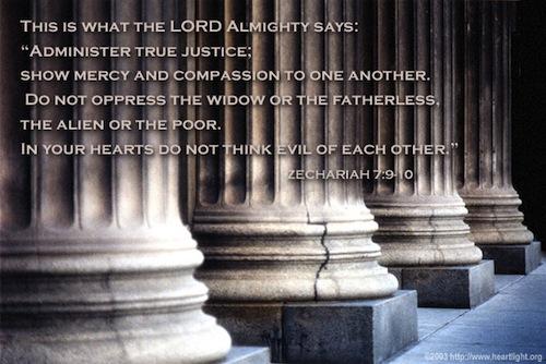 CHRONOLOGIC BIBLE Zechariah7_9-10