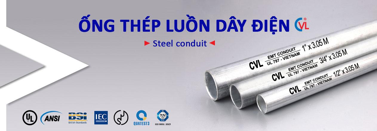 ống thép luồn dây điện Cát Vạn Lợi Ong-thep-luon-day-dien-CVL