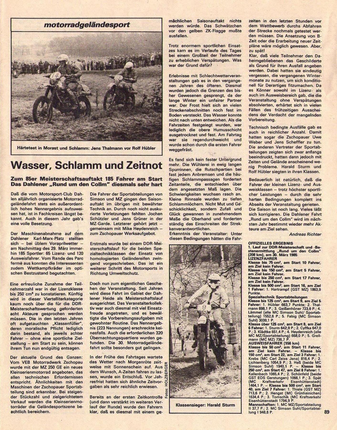 Des MZ à la sauce Enduro - Page 2 17