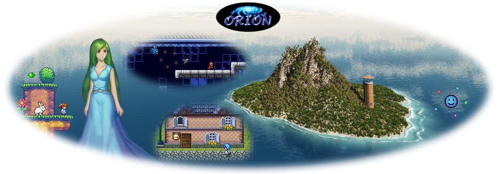 Retro Game Designer - Orion soft - kickstarter Banner
