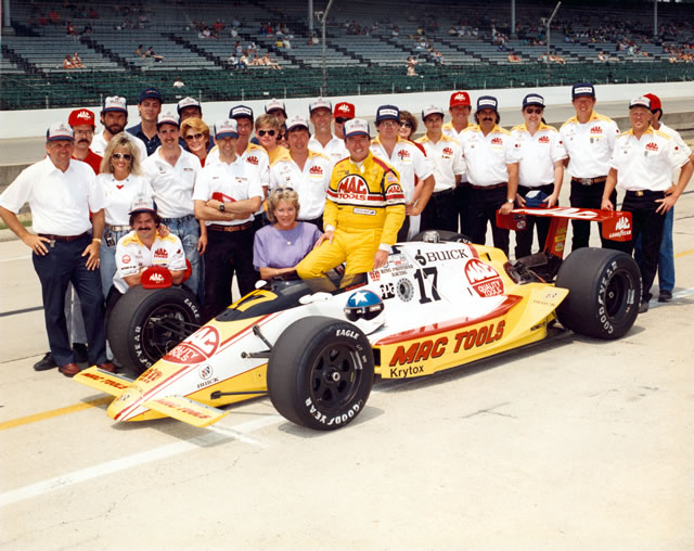 1988 CART PPG Indy Car World Series - History 1988-CAR-17