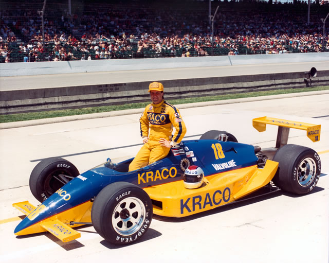 1988 CART PPG Indy Car World Series - History 1988-CAR-18