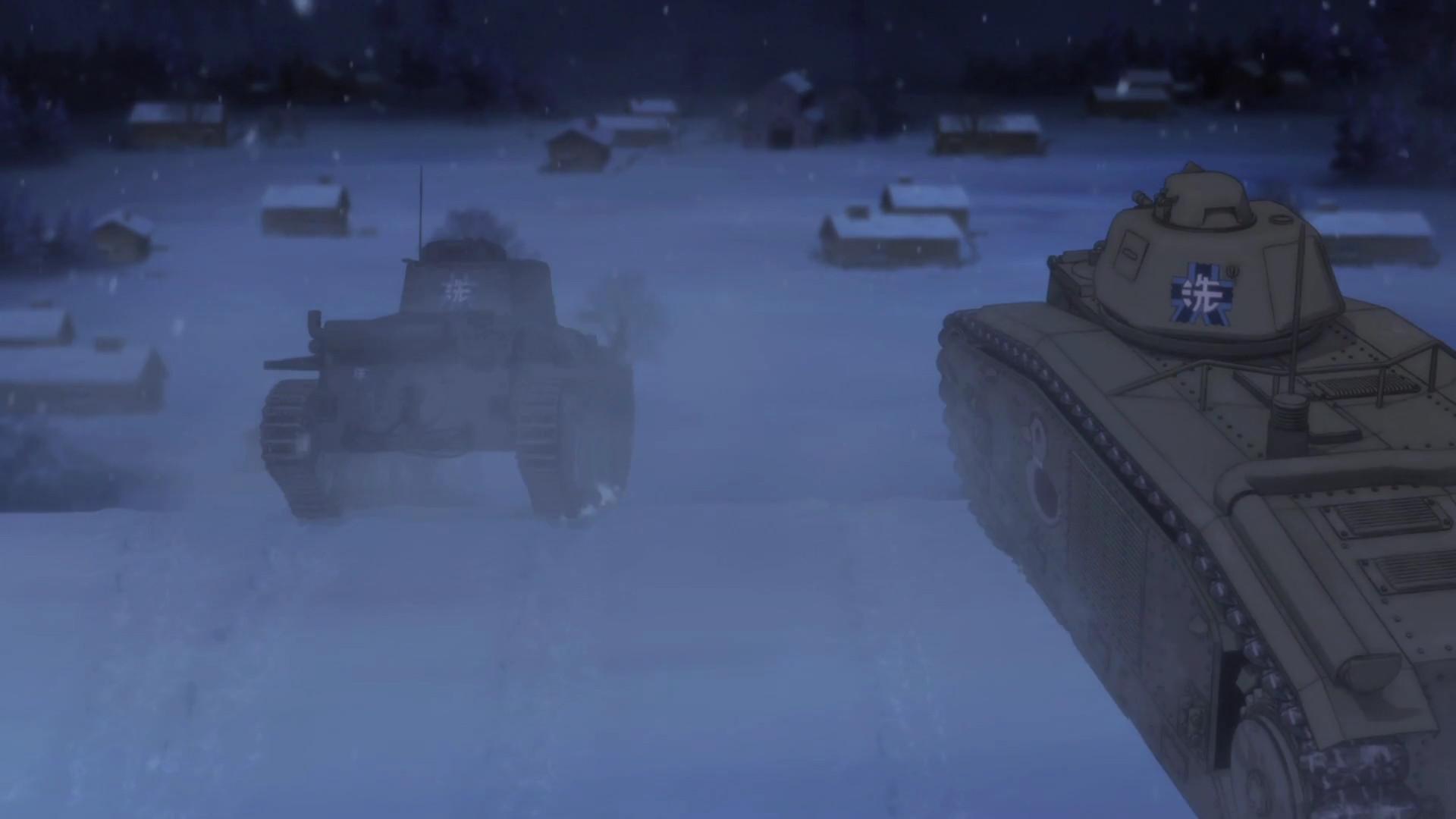 Girls und Panzer Girls-und-Panzer-Tanks-003