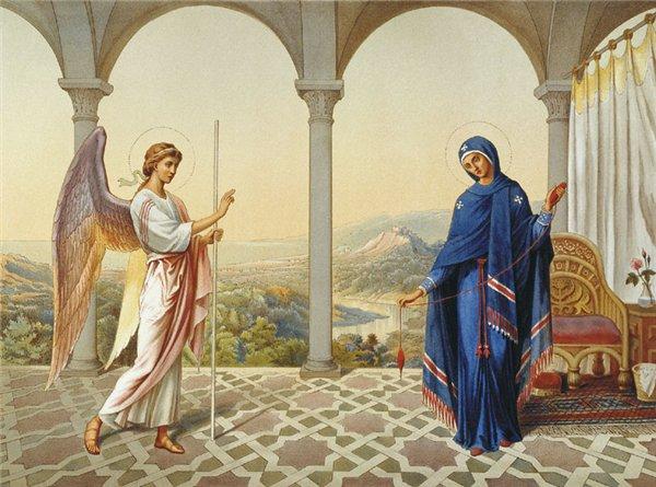 Православные отмечают  сегодня Благовещение Пресвятой Богородицы! Blagovest
