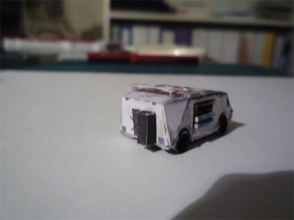 modellino - Costruisci il tuo modellino di carta della Arrow Freighter in scala 1:400! Azure_edy2