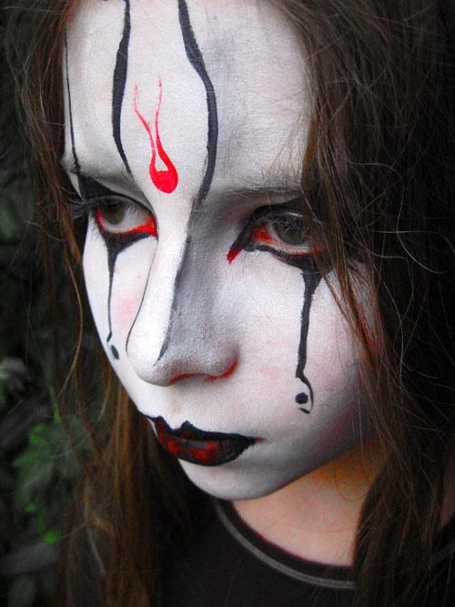 Maquillage gothique Gothtique