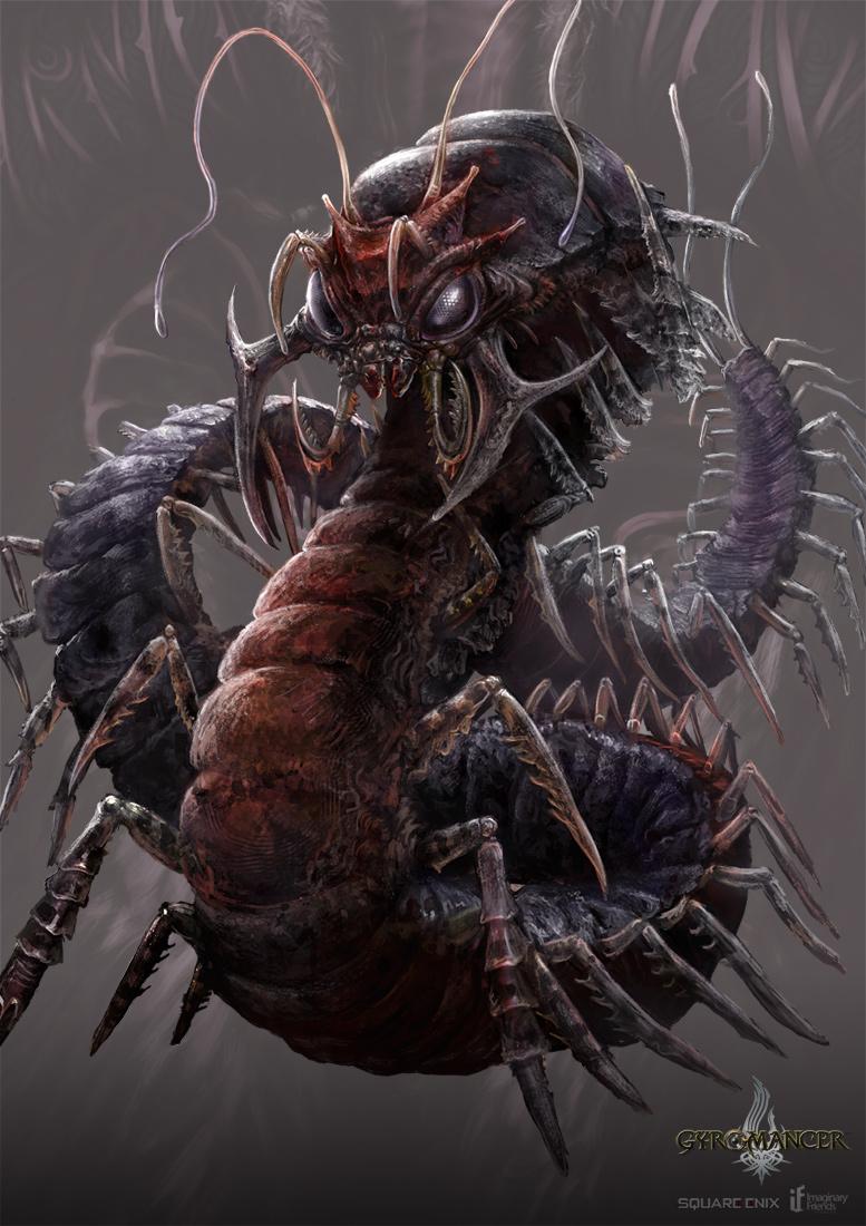 Абстерго Giant_centipede___gyromancer_by_kunkka-d3e96g7