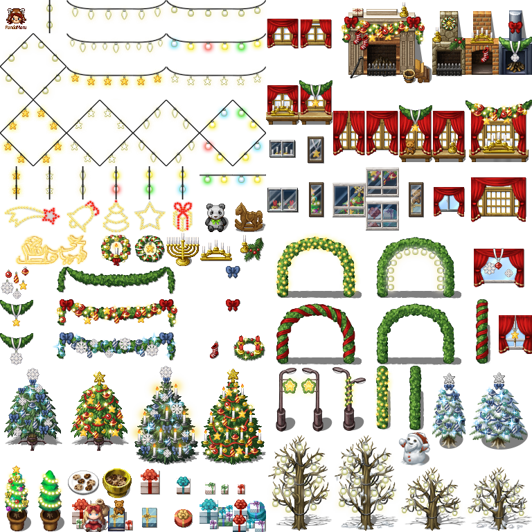 [VX / VX Ace] ¡Cosas navideñas! Mv_xmas_decoration_by_schwarzenacht-d9k7oed