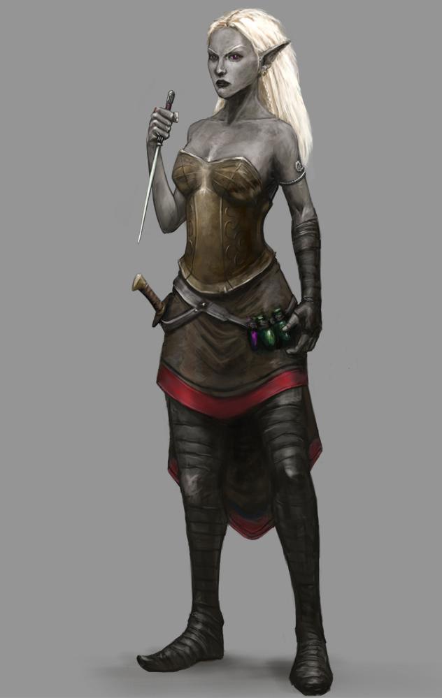 Подбери другому аватар - Страница 2 Drow_assassin_by_seraph777-d7jg811