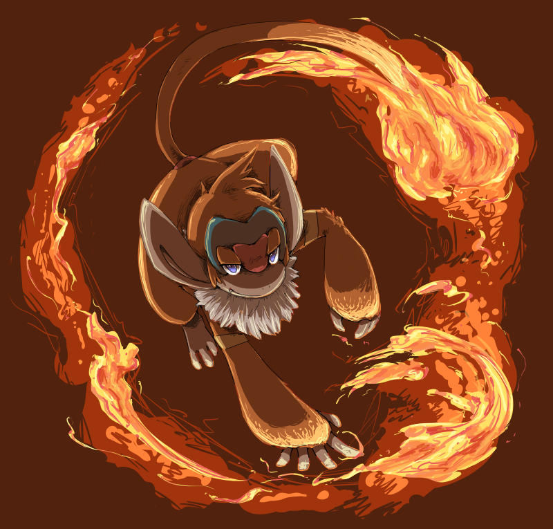 Chimpenfeu / Monferno Pokeddexy_07_fire___monferno_by_peegeray-d6x3908