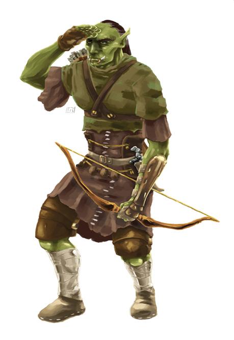 Demande d'ajout de monstres dans le bestiaire - Page 2 Orc_scout_by_ikeroyo-d6oayar