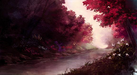 Рубиновая речка Landscape_by_amahane