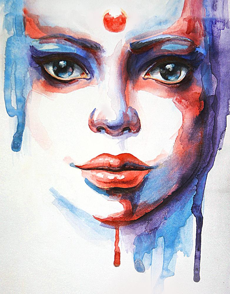 Portreti .. - Page 3 Watercolour_portrait_by_lidiagutman-d5najuv