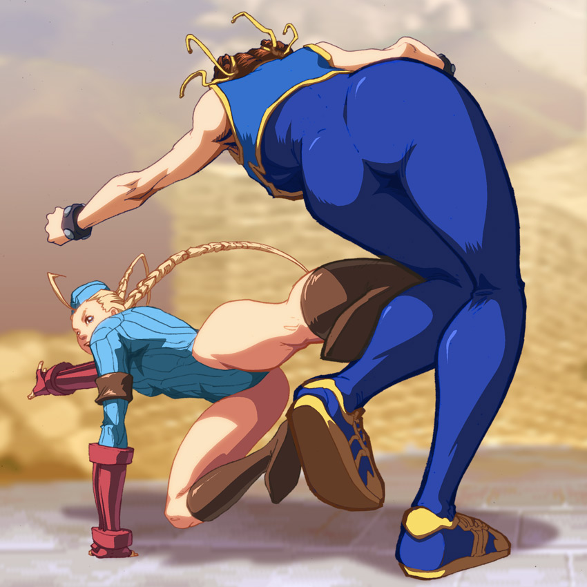 """Cammy SNK  """"Belial & Clayton """"  Ufs___cammy_roundhouse_by_udoncrew"""