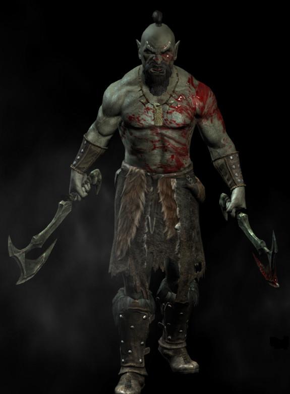 Demande d'ajout de monstres dans le bestiaire - Page 2 Orc_warrior_by_pedrokomando-d4iiqe5