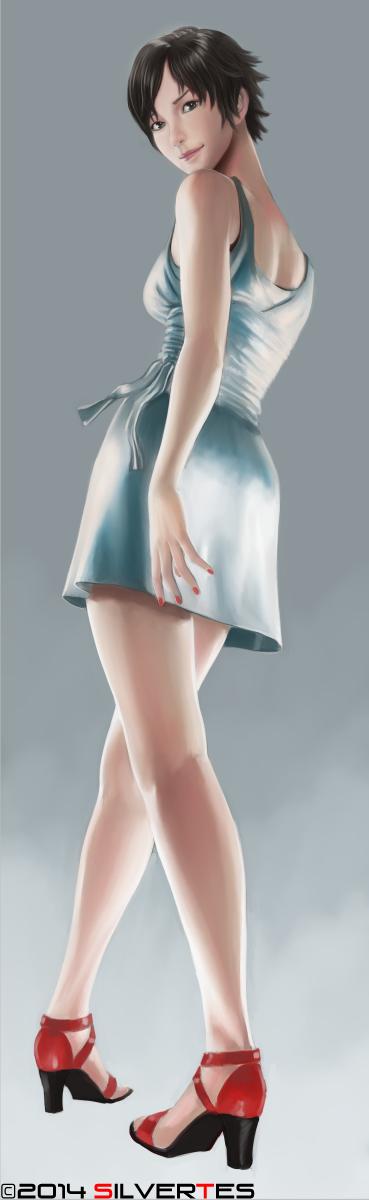 --- SilverTES Gallery --- Reiko_nagase_7_by_silvertes-d88zsm0